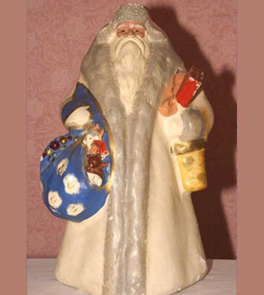 Дед Мороз своими руками: ватное папье-маше - каталог статей на сайте | ДомСтрой
