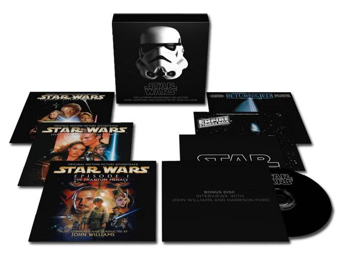 John Williams Star Wars: The Ultimate Soundtrack Edition 10 CD & DVD Box Set