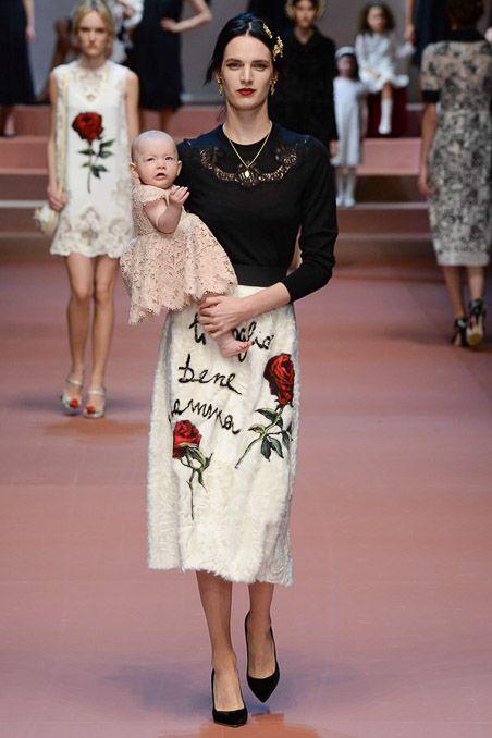 Pokaz Dolce&Gabbana FW 2015/16 na Milan Fashion Week