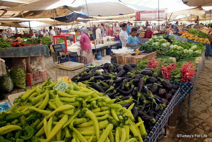#SeasonalFood - #Çalış Market, #Fethiye, #Turkey