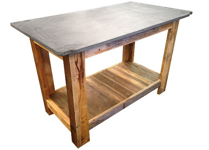 10 best tables industrielles look industriel for Table bar industriel