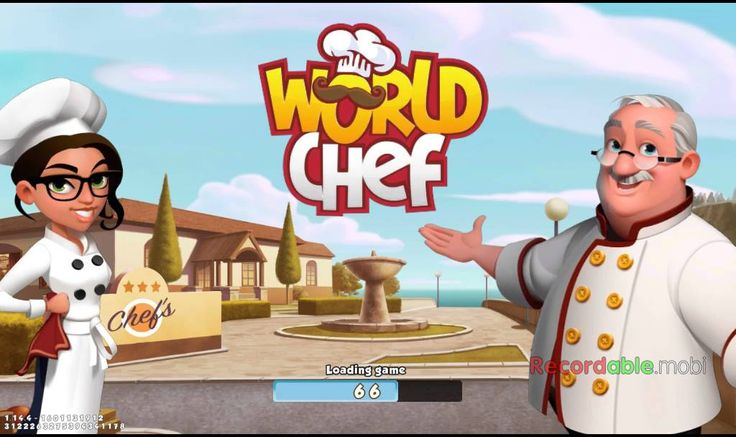 First chef - world chef | kwekcow