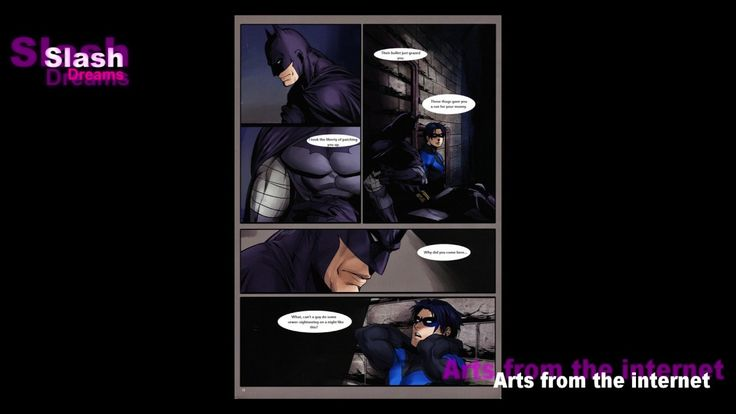 Batman / Nightwing - SLASH