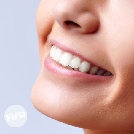 baking soda, sea salt, finely ground sage, and peppermint oil for Whiter Teeth—In Seconds!   First for Women
