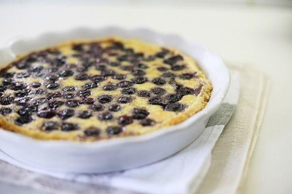 Финский черничный пирог - Чадейка