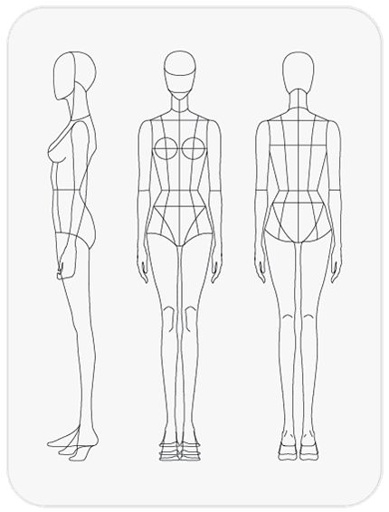 Download Fashion Figure Templates – Prêt-à-Template ...
