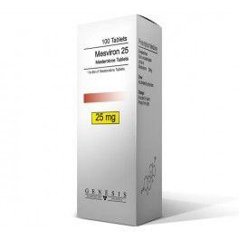 Mesviron 25 Tabletten Genesis 100 Tabs (Mesterolone)  -Mesterolone -Genesis Labors -100 Tabletten (1tab = 25 mg) Menge - 1