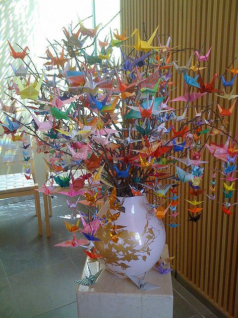Origami Crane Tree by Geek2Nurse, via Flickr