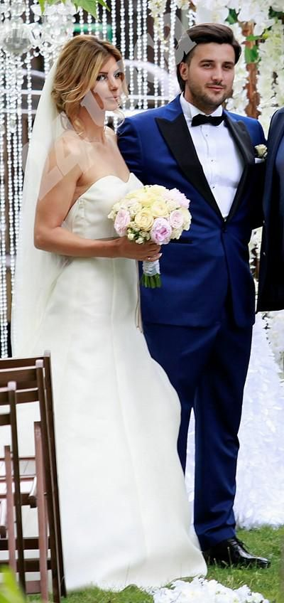 Pironkova's marriage to former football player Mihail Mirchev is not a surprise, as they got engaged way back in 2014, after about five years of dating, and the wedding had been reported in the news to be planned for after Wimbledon 2016. Congratulations to the lovely couple!