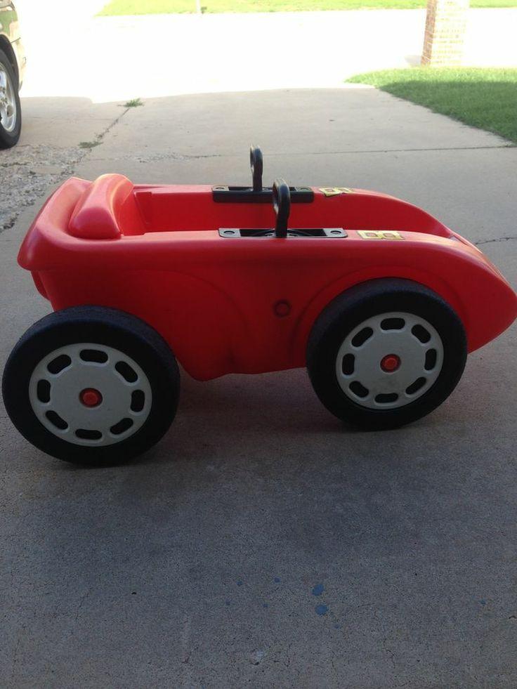 Little Tikes Blue Rocket Race Car