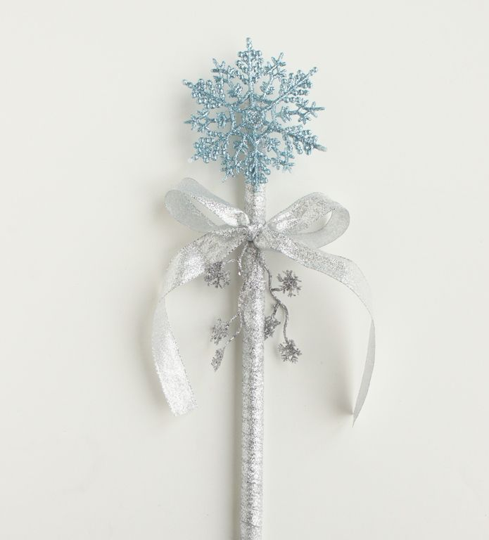 Harness Princess Elsa's magical powers with this DIY Frozen wand!