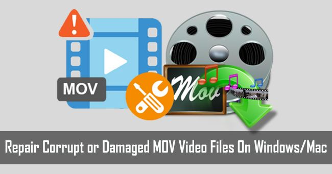 MOV Video #Repair: Fix #Corrupted or #Damaged MOV Files On