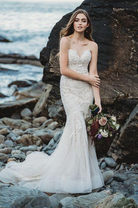 ef8fa4fc80ca9 Allure Bridals 9601   Spring 2019 Collection #allure #allurebridals #wedding  #weddingdress #
