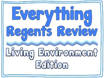 19 best living environment regents resources images on pinterest everything regents review living environment editable bundle ccuart Gallery