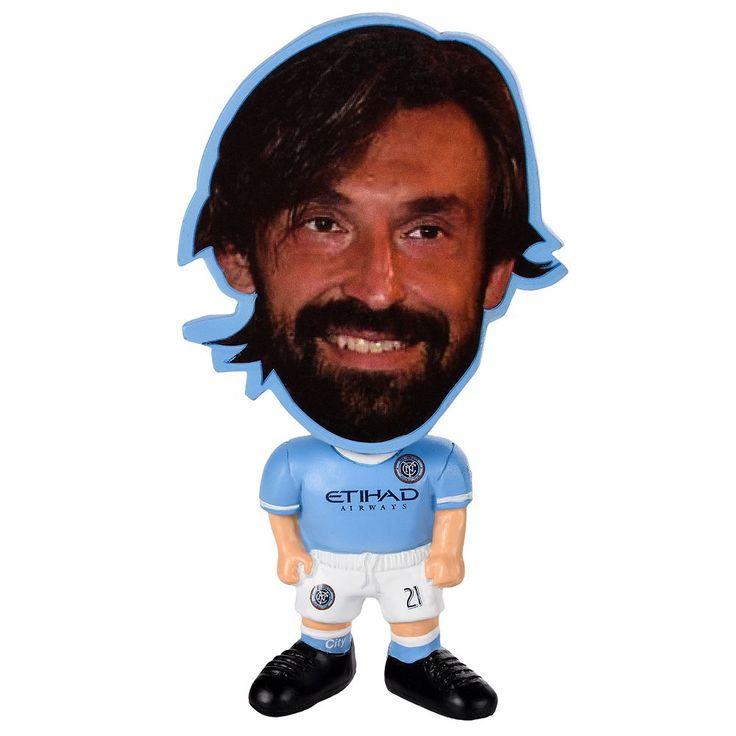 Forever Collectibles New York City FC Andrea Pirlo Figurine, Multicolor