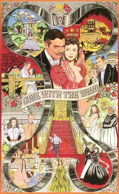 Scarlett and Rhett - Scarlett O'Hara and Rhett Butler. Love this :)