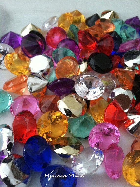 100pcs Acrylic Diamonds 19mm Table Scatter/Vase by FloatingPearls