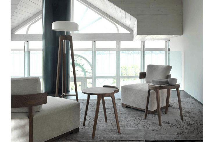 Deck Side Table by P. Salvade for Porada   Poliform Australia