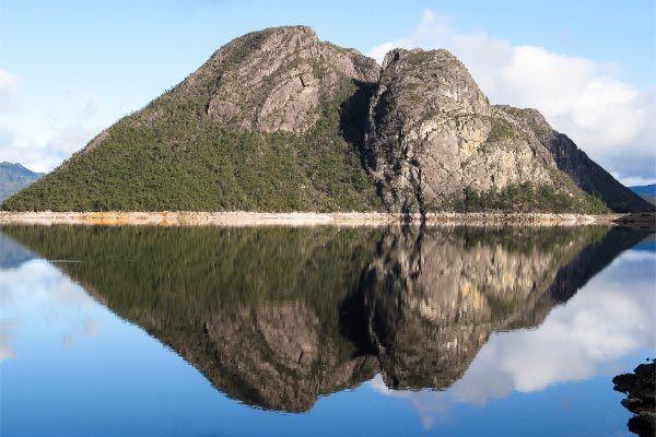 Lake Mackintosh Mt Farrell, west coast Tasmania. Article and photo (copyright) by Carol Haberle.