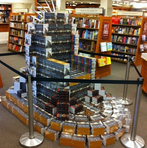 Book throne.