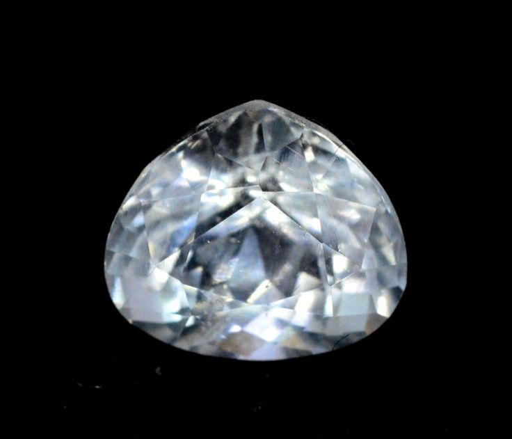 1.75 cts Trillant Cut Untreated Aquamarine Gemstone from Pakis