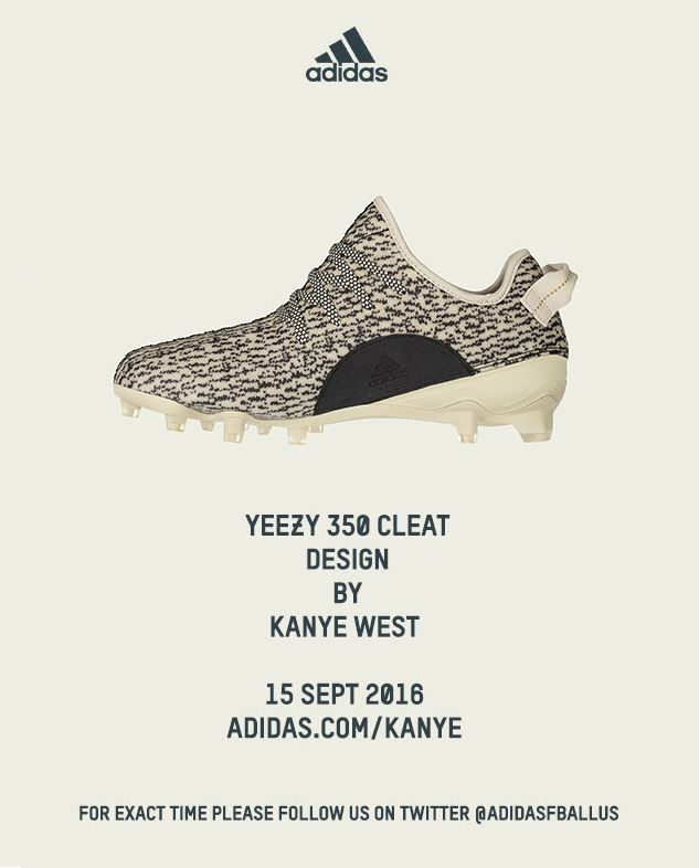 Yeezy Cleats dropping TOMORROW