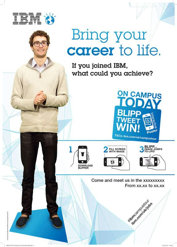 If your at #University this #IBM blipp is not to be missed!! Learn how to bring your #career to life... I'll talk no more and let you do the blipping to find out more..