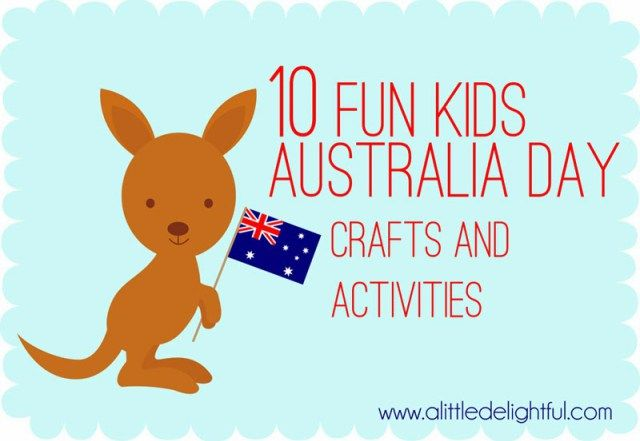 10 Australia Day crafts and activities! - a little delightful