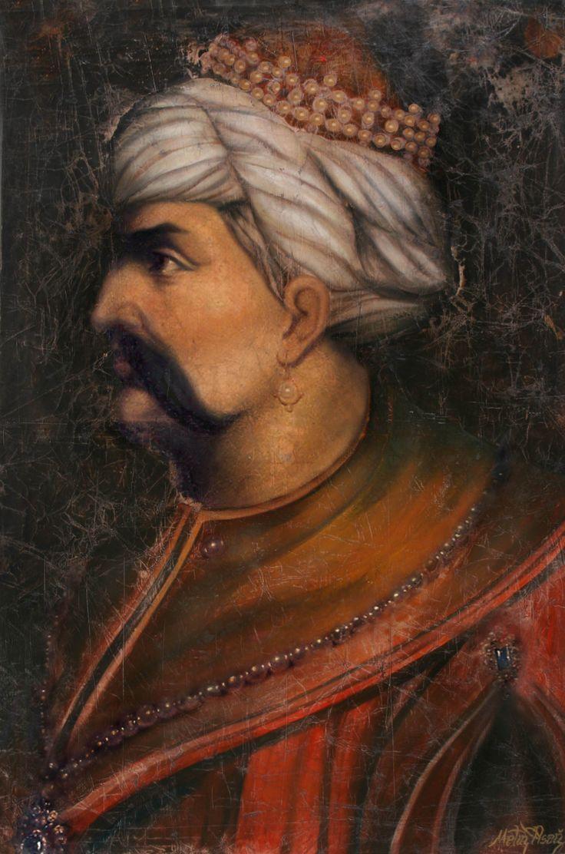 Yavuz Sultan Selim 100x150cm yağlıboya.