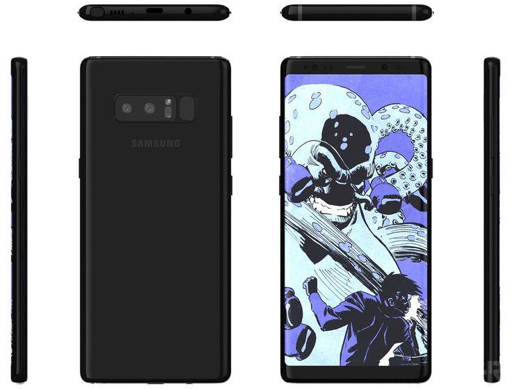 Galaxy Note 8 hace escáner de huellas digitales aún más difícil de alcanzar
