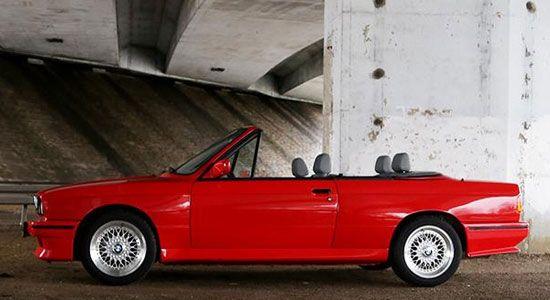 BMW E30 M3 cabrio: suf of super?