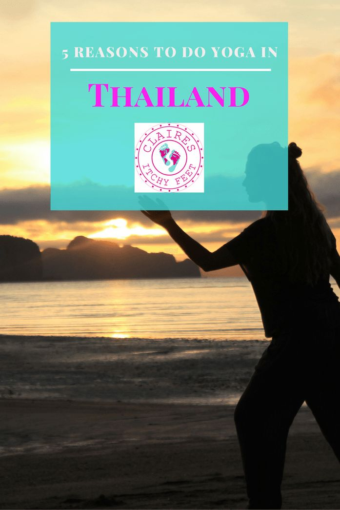 Looking for a yoga holiday in Thailand? There are so many reasons to go to Thailand. And even more, reasons why you should do Yoga there. Here are my top 5 reasons to do yoga in Thailand. Thailand | Yoga | Yoga retreat | Yoga Holiday | Yoga Vacation | Yoga in Thailand | Thailand Yoga Retreat