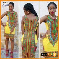 Diseño de moda abrir cintura back zipper señora africano dashiki vestido recto https://app.alibaba.com/dynamiclink?ck=share_detail