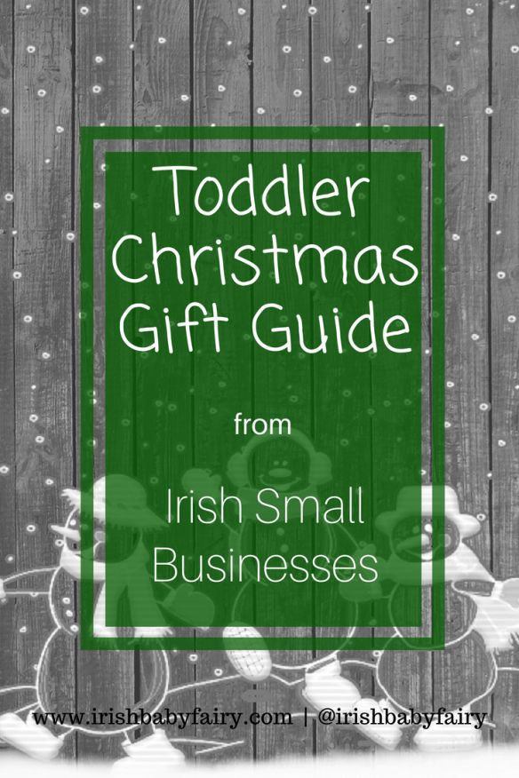 The ultimate guide to the most fabulous Christmas toddler gifts available from small Irish retailers. Broken down into 3 categories - splurge, sensible and value. You are guaranteed to find the perfect gift.