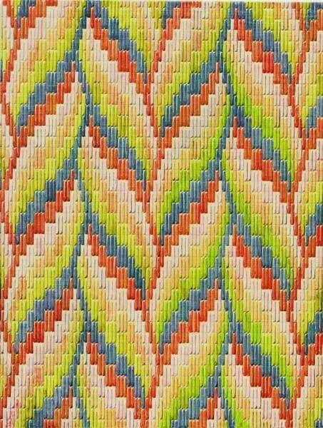 Gorgeous Bargello pattern