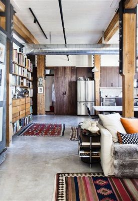 17 beste idee n over interieur bakstenen muren op for Interieur loft new york