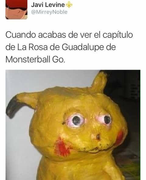 #MonsterBall se ocupa para hacer memes del episodio de la Rosa de Guadalupe. http://mexico.srtrendingtopic.com/trend/73377/2016-08-06/2016-08-06/monsterball.html