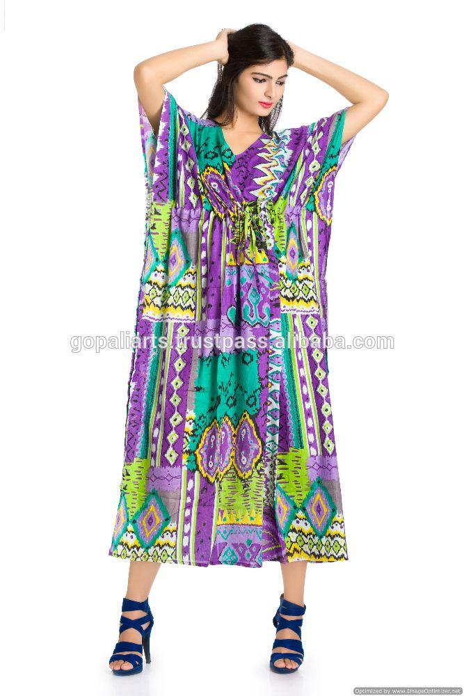Индийский макси длинное платье икат напечатан пляж бохо сексуальные бикини кимоно рукава Большой размер хиппи платья женщин платье-изображение-Повседневные платья-ID товара::50019785401-russian.alibaba.com