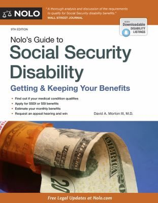 This comprehensive and compassionate book covers both SSDI and SSI, shows you how to prove a disability, and explains how your age, education, and work experience affect your chances. Parents will find special information about benefits available to children with a disability.