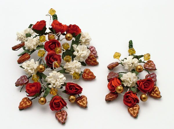Medieval Groom's and Best Man's corsage