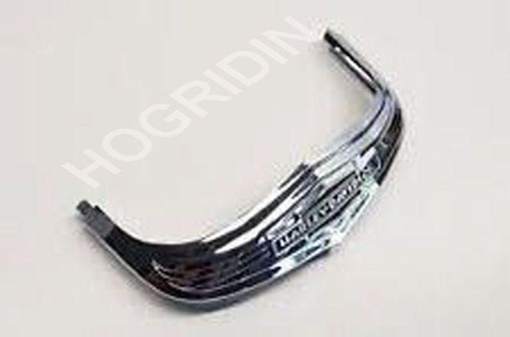 #Harley 05 - 17 oem Harley Davidson softail deluxe flstn chrome front fender trim tip please retweet