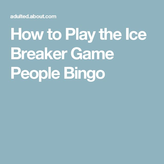 Ice Breakers for Corporate Events