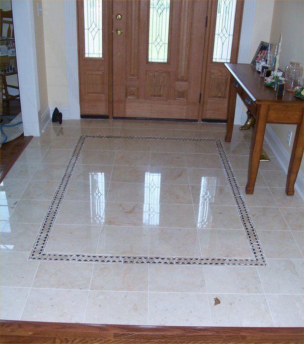 Statuette Of Rectangular Floor Tile Design