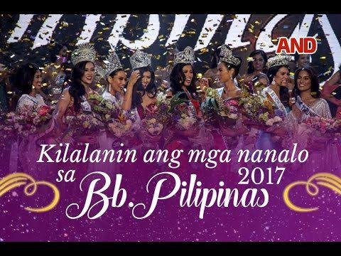 Kilalanin ang mga nanalo sa Bb. Pilipinas 2017 - WATCH VIDEO HERE -> http://philippinesonline.info/trending-video/kilalanin-ang-mga-nanalo-sa-bb-pilipinas-2017/   Bb. Pilipinas 2017 winners.  Subscribe to the ABS-CBN News channel! –  Visit our website at Facebook: Twitter:  Video credit to the YouTube channel owner