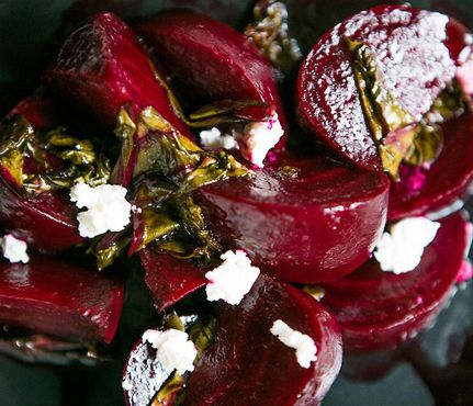 Roasted Beet Salad With Goat Cheese