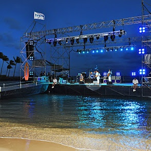 Event stage in water
