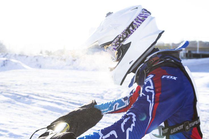 Winter motocross Russia rider: Pavel Dolenko #17 photo: Masha Taraskina