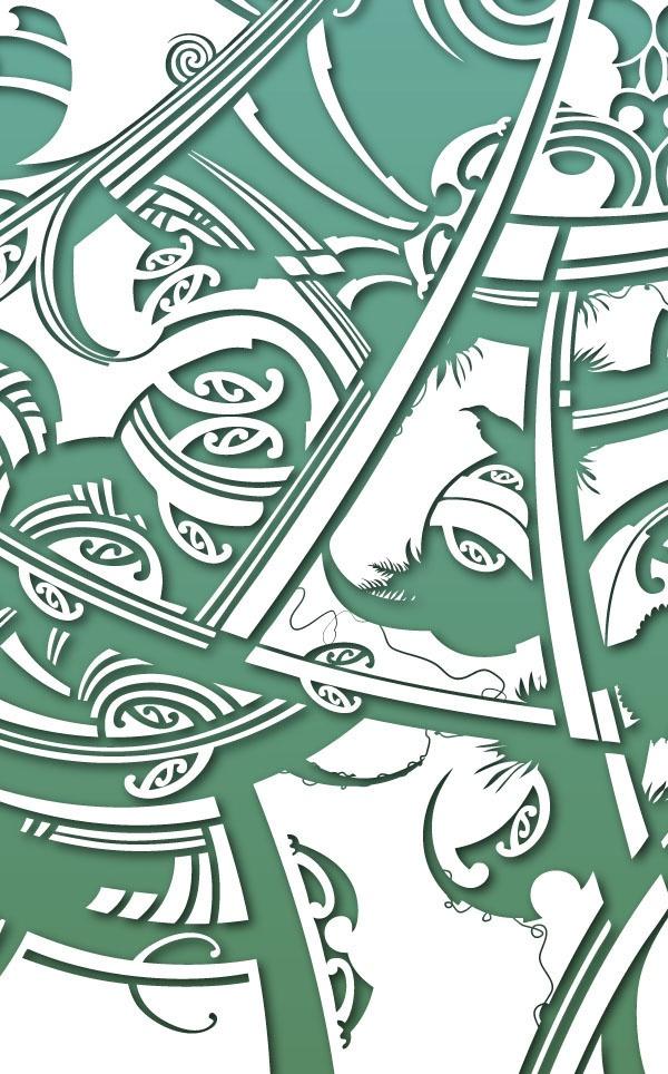 Stunning contemp Maori design. chur rufus.