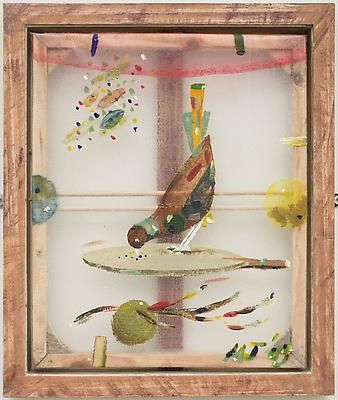 Beautiful Bird by Merlin James - Artists - Kerlin Gallery