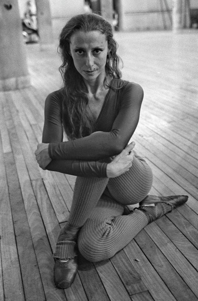 Maya Plisetskaya, 1976.